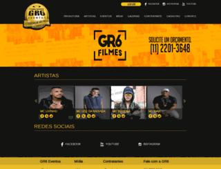 gr6eventos.com.br screenshot