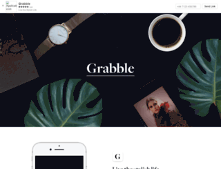 grabble.com screenshot