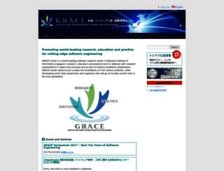 grace-center.jp screenshot