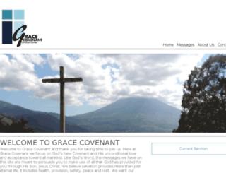 gracecovenantcc.org screenshot