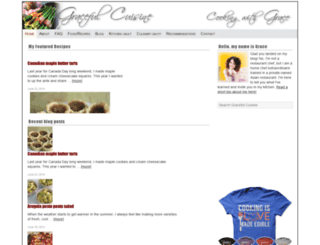 gracefulcuisine.com screenshot