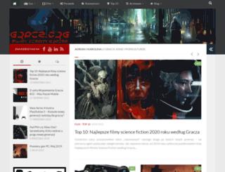 gracz.org screenshot