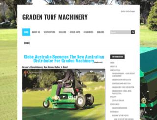 gradenturf.com screenshot
