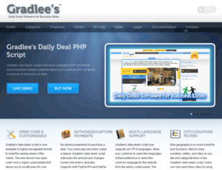 gradlees.com screenshot