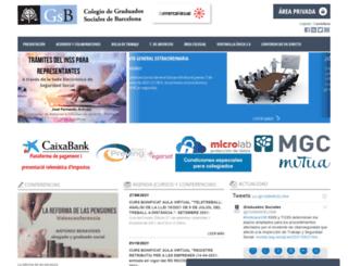 graduados-sociales.com screenshot