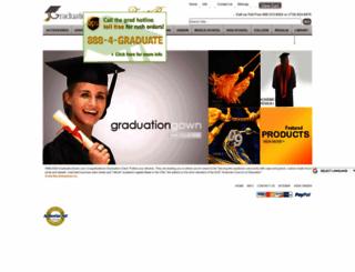 graduationgown.com screenshot