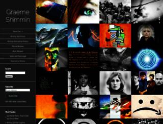 graemeshimmin.com screenshot