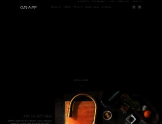 graff-faucets.com screenshot