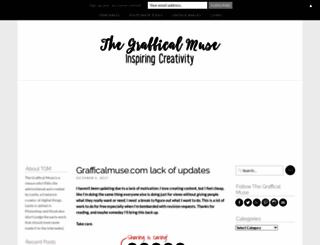 grafficalmuse.com screenshot