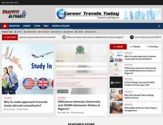 graffitialphabet.org screenshot