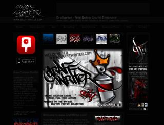graffwriter.com screenshot