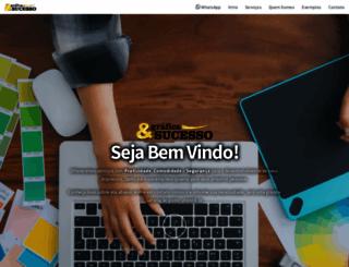 graficasucesso.com.br screenshot
