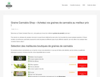 graine-cannabis-shop.com screenshot