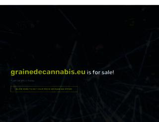 grainedecannabis.eu screenshot