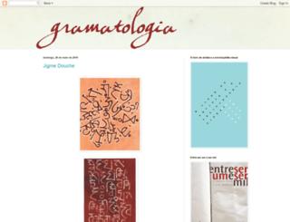 gramatologia.blogspot.com screenshot