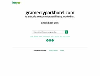 gramercyparkhotel.com screenshot