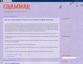 grammar24.blogspot.com screenshot