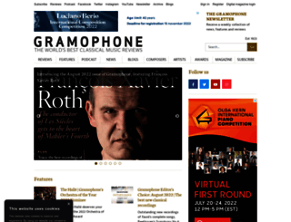 gramophone.co.uk screenshot