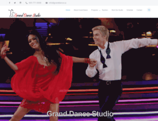 granddance.ca screenshot