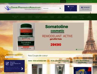 grande-pharmacie-auteuil.com screenshot