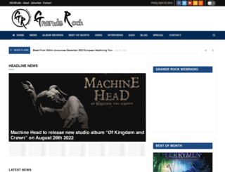 grande-rock.com screenshot