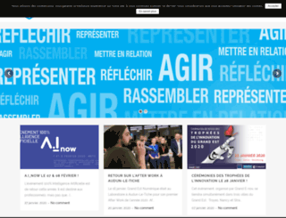 grandestnumerique.org screenshot