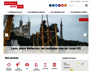 grandlyon.com screenshot