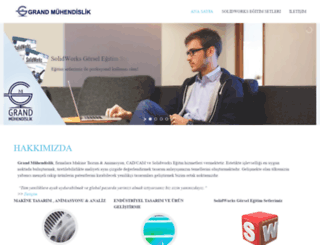 grandmuhendislik.com screenshot