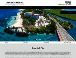 grandoasispalm.com screenshot