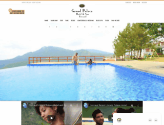 grandpalaceyercaud.com screenshot