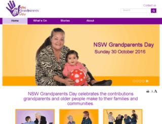 grandparentsday.org.au screenshot