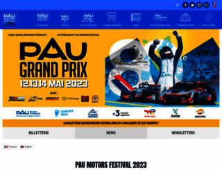grandprixdepau.fr screenshot