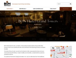 grandtowershotel.com screenshot