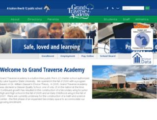 grandtraverseacademy.com screenshot