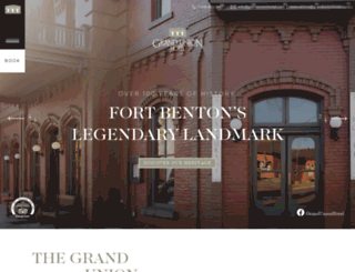 grandunionhotel.com screenshot