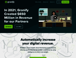 granify.com screenshot