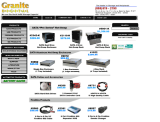 granitedigital.com screenshot