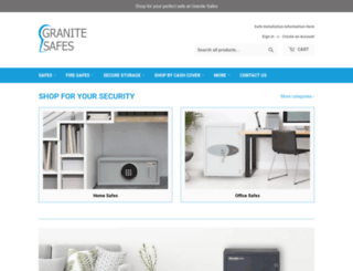 granitesafes.co.uk screenshot