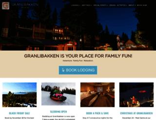 granlibakken.net screenshot