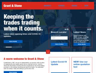 grantandstone.co.uk screenshot