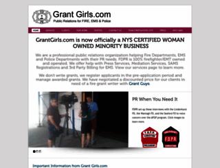 grantgirls.com screenshot