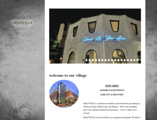granvillecafe.com screenshot