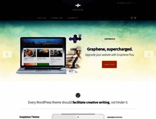 graphene-theme.com screenshot