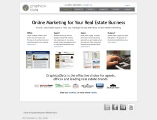 graphicaldata.com screenshot