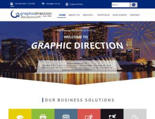 graphicdirection.com.sg screenshot