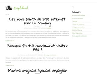 graphiland.fr screenshot