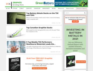 graphiteinvestingnews.com screenshot