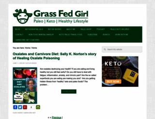grassfedgirl.com screenshot