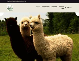 grasshillalpacas.com screenshot