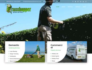 grasshoppergardenservices.co.uk screenshot